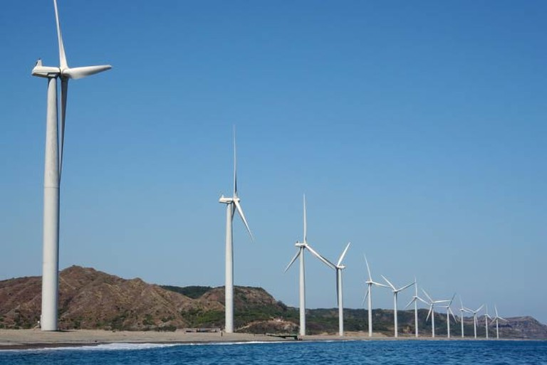 Bangui Windfarm, Ilocos Norte by John Ryan Cordova | Wikimedia Commons