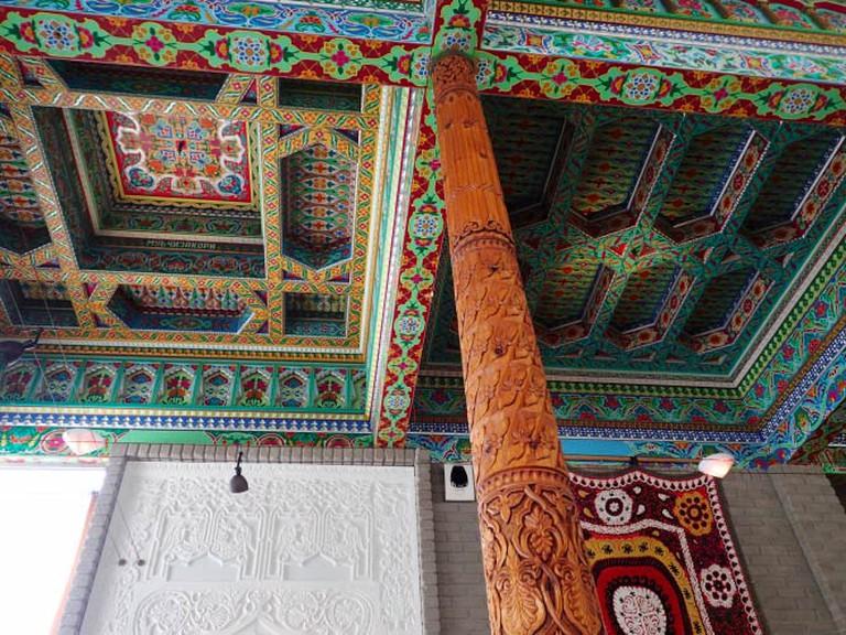 Ceiling of the Tea House | Lauren Ferrier