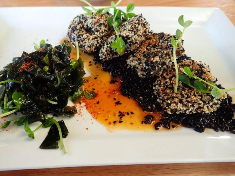 Jasmine Tea Sweet & Sour Shrimp | Lauren Ferrier