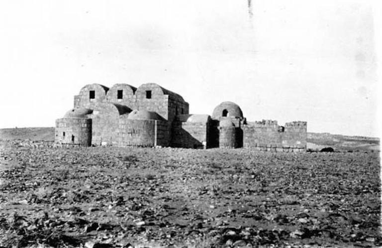 Photo X_008, Hunting Lodge, Amra, Jordan, January, 1914 © The Gertrude Bell Archive, Newcastle University