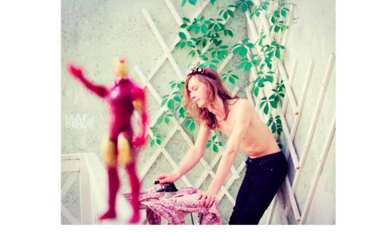 Iron Man's Irony for Ironing Man © Uldus Bakhtiozina