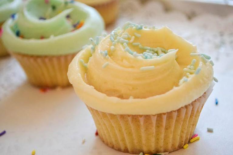 Vanilla Cupcake from Magnolia Bakery   © Kate Howley