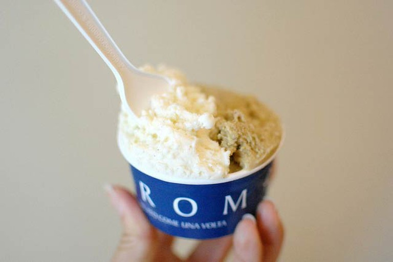 Vanilla Gelato from GROM | © Kate Howley