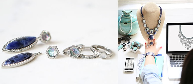Pieces from chloe + isabel's latest line of fashion jewelry | Courtesy chloe + isabel