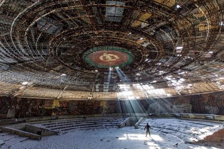 The Bulgarian Communist Party HQ, Buzludzha, Bulgaria © Sylvain Margaine