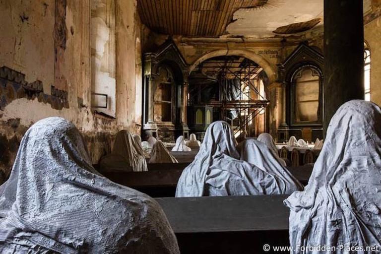 Dilapidated St George's church in Lukova © Sylvain Margaine