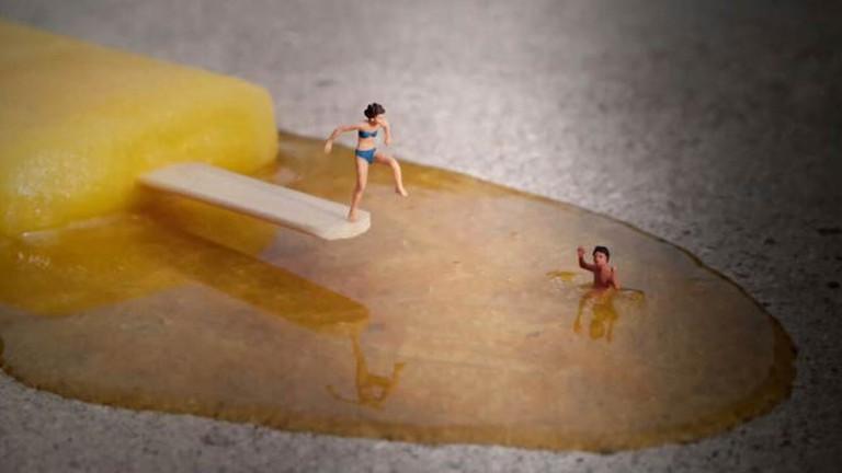 The Jetty by Slinkachu| Image by Imme Dattenberg-Doyle
