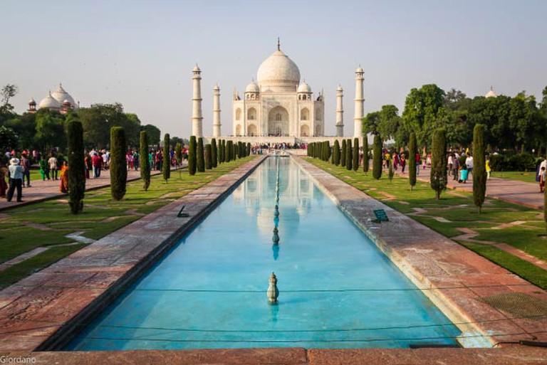 Taj Mahal   © Giordano / Flickr