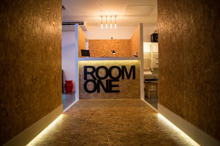 Reception. Room One courtesy of Flint PR.