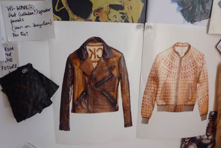 Images of Suzanne Lee jackets made from Kombucha vegetable leather ©Régine Debatty/FlickrCommons