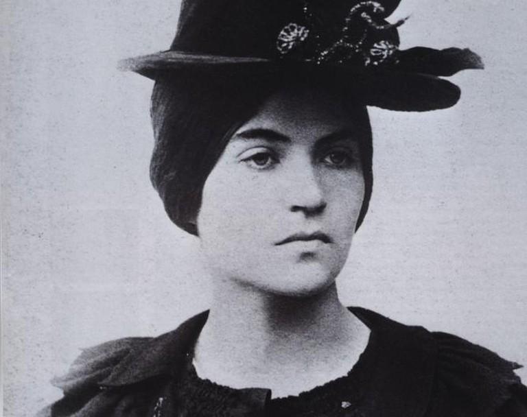 Suzanne Valadon Self-Portrait, 1883 @ Wikipedia Commons