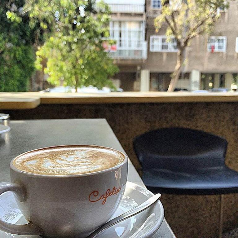 Coffee, latte art