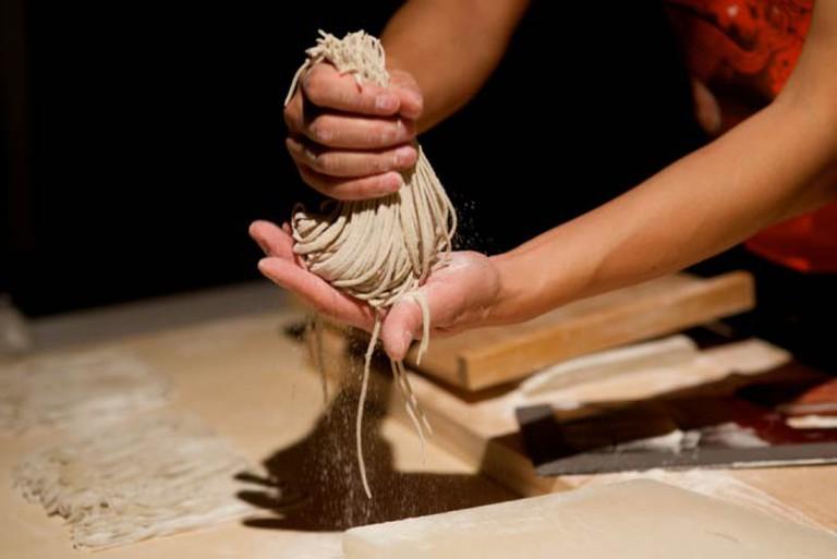 Handmade Soba Noodles|© Jun Selta/Flickr