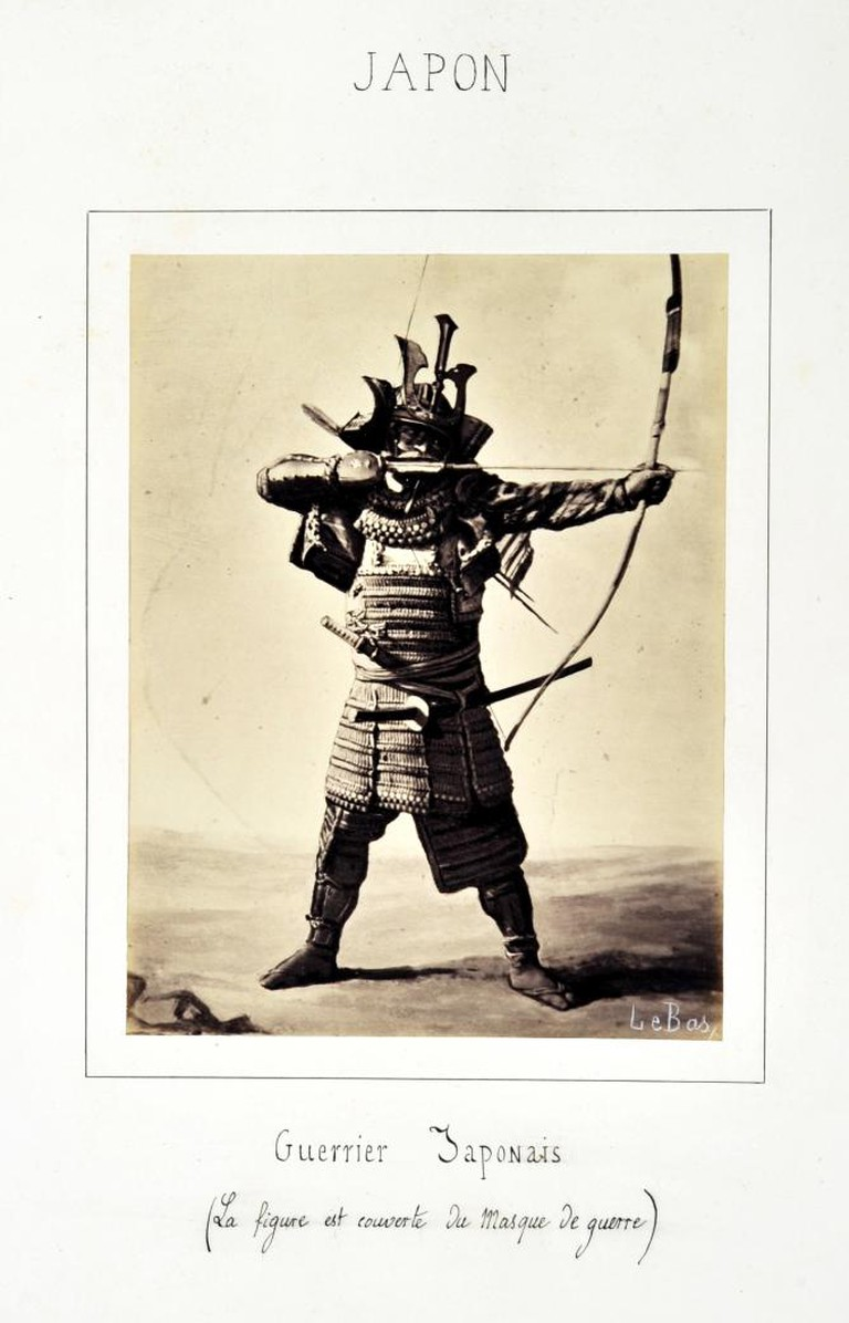 Apollinaire Le Bas, Japanese Warrior, 1864 © Guimet National Museum of Asian Arts