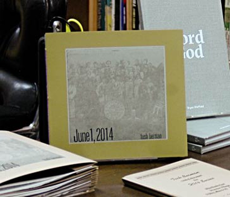June 1, 2014, is only available at Alias Books East (Photo: Eleanore Studer)