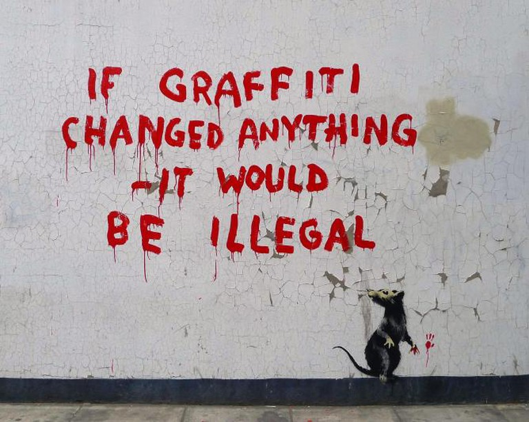 If Graffiti changed anything - it would be illegal | © Kethy Bragg |Flickr
