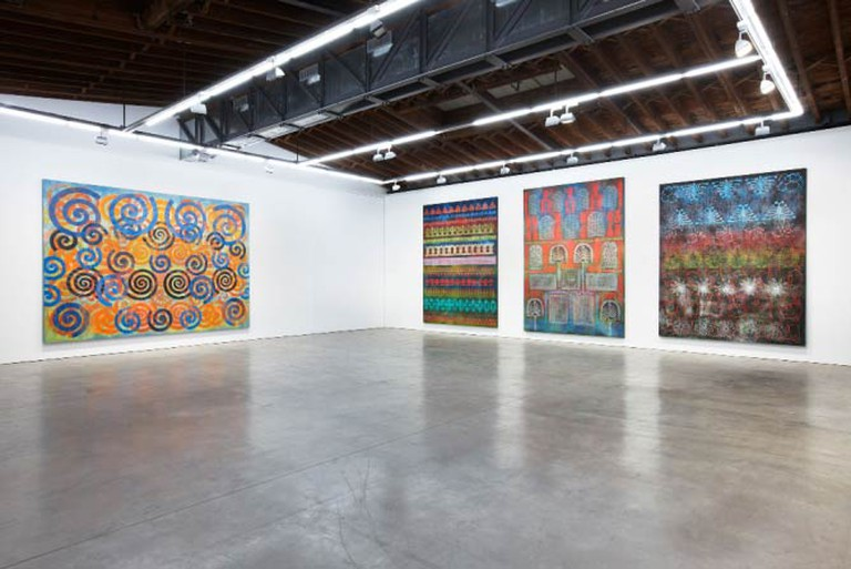 Philip Taaffe, Installation View, 2015 | Courtesy of the artist and Luhring Augustine, New York