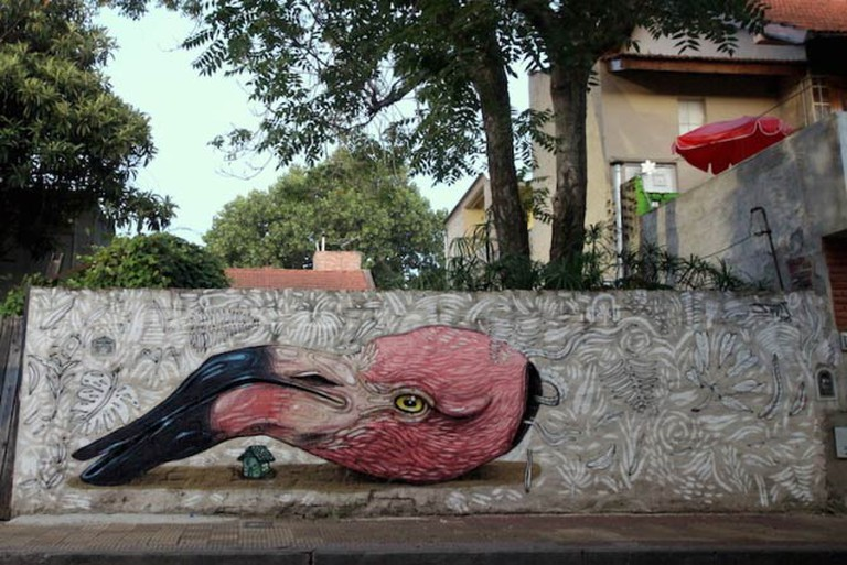 Mural in Coghlan by Jiant | © Buenos Aires Street Art