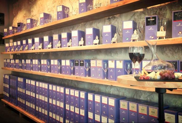 Bibovino's Bag-In-Box™ consists of a core collection of 25 fine wines | © Eliran Rubin