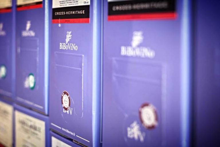 Bibovino's iconic lavender wine casements |© Bibovino