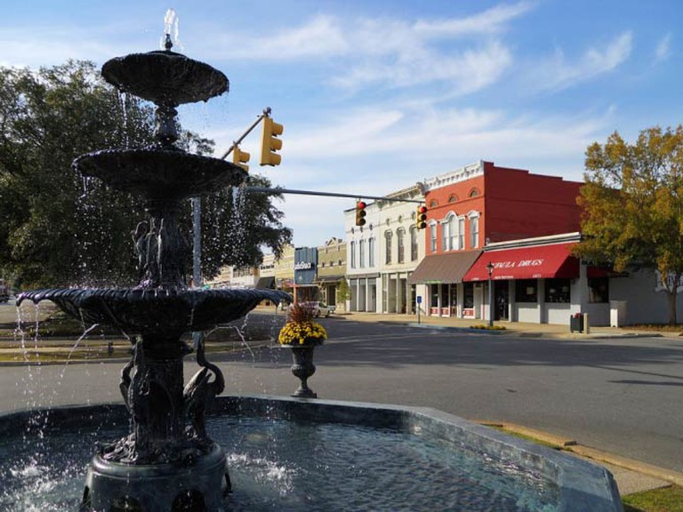 The MacMonnies Fountain in downtown Eufaula | © Rivers Langley/WikiCommons