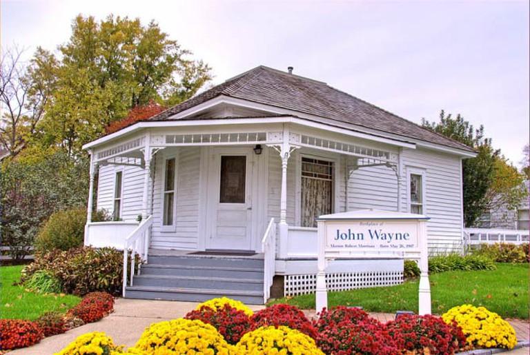 Birthplace of John Wayne in Winterset | © Thaddeus Roan/WikiCommons