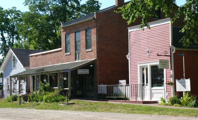Shops in Bentonsport | Courtesy of Village of Bentonsport