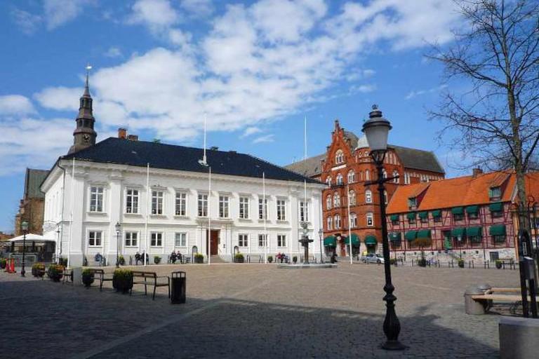 Ystad Main Square   © Mickaël Delcey/WikiCommons