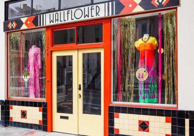 Wallflower boutique in the Mission / Photograph by Mat Dunlap