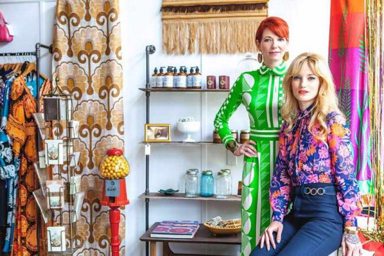 Wallflower owners Lindsey Chambers and Victoria Nicoll / Photograph by Mat Dunlap