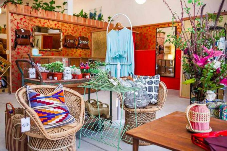 The easy California vibe at Wallflower boutique / Photograph by Mat Dunlap