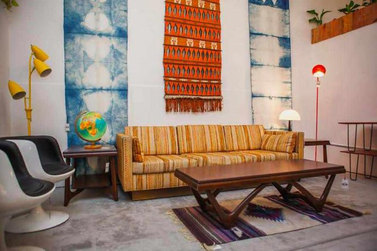 The eclectic mix of furniture at Wallflower boutique / Photograph by Mat Dunlap