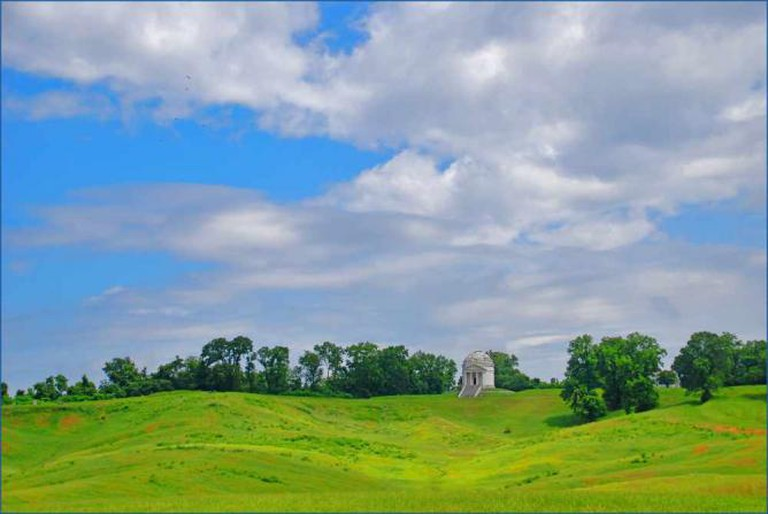 Illinois State Memorial, Vicksburg National Military Park, Mississippi | © Ron Cogswell/Flickr