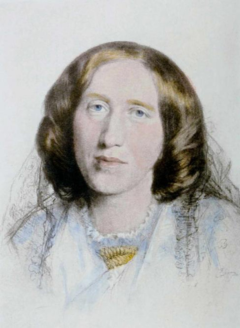 Portrait of George Eliot by Frederick William Burton, 1864 | © INeverCry/WikiCommons