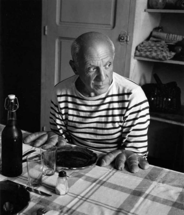 Les Pains de Picasso, 1952- (C) Robert Doisneau