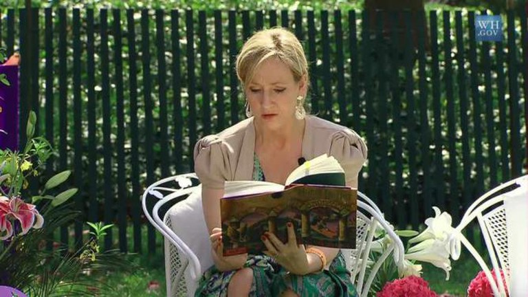 J.K. Rowling | © Executive Office of the President/WikiCommons