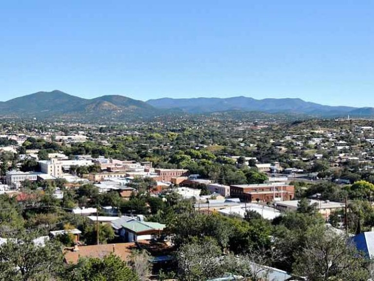 Downtown Silver City from Chihuahua Hill | © PA Stanley/WikiCommons