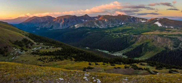 View of Rocky Mountain National Park | © Andrew E. Russell/Flickr
