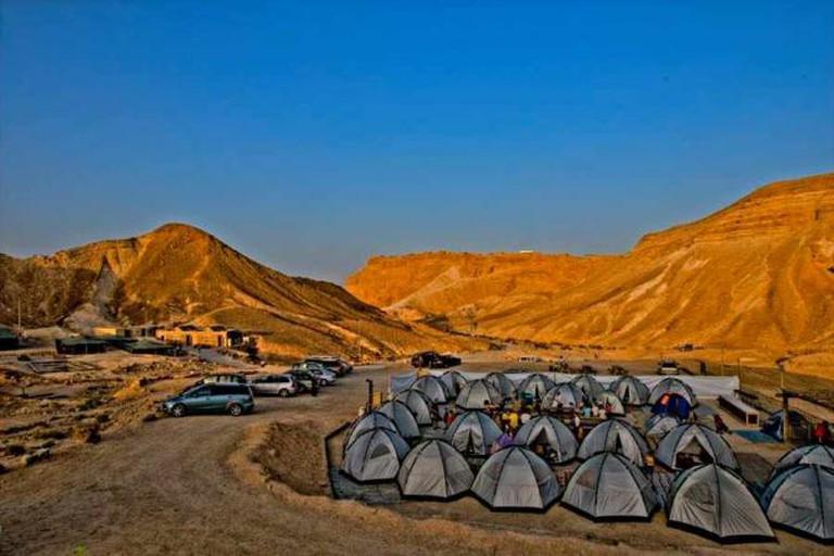 Masada Night Camp | © Avinoam Michaeli/Flickr