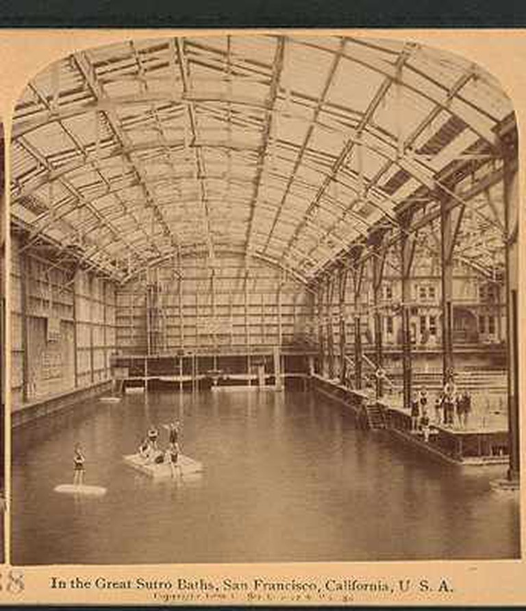 Early depiction of Sutro Baths I Courtesy Wikipedia.org