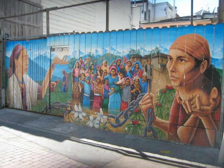 Precita Eyes Mural on Mission in San Fransisco | hnnssy25/Flickr