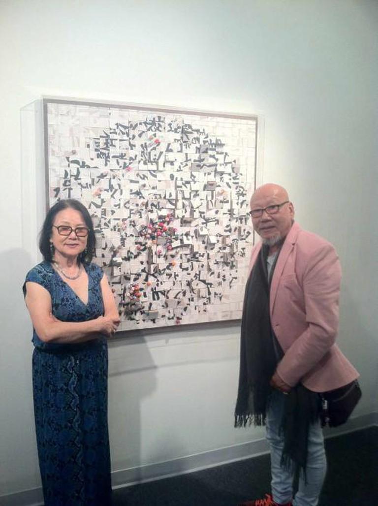 Sandra Lee and Jung San