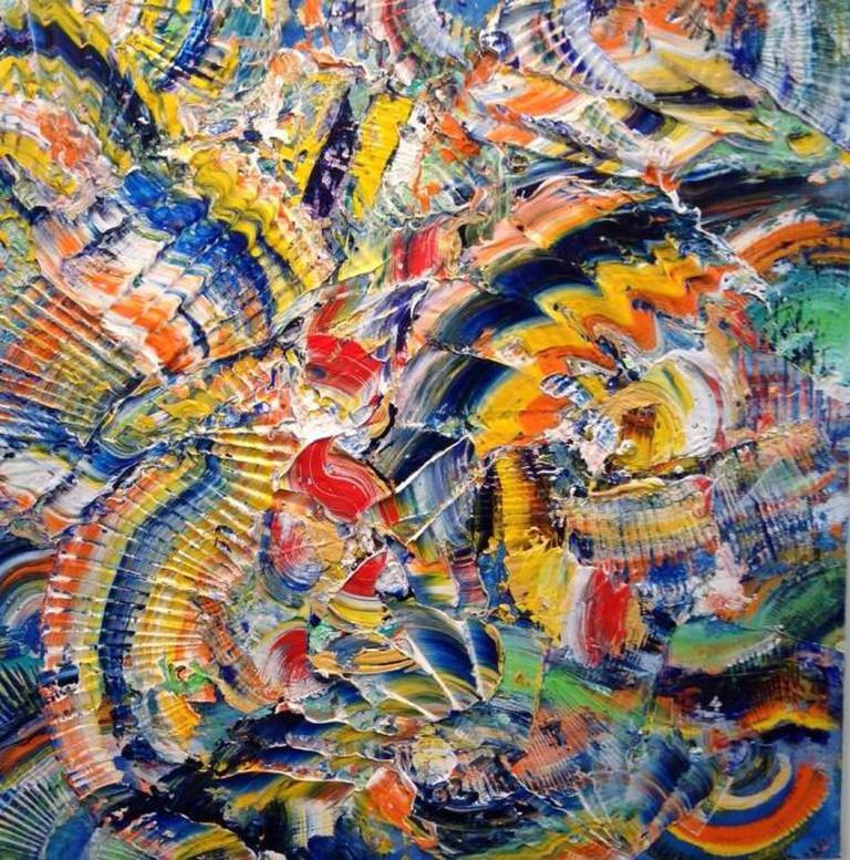 Dizzy Sparks the Zippo by Roy Lerner, at Gallery Sam © JoAnneh Nagler