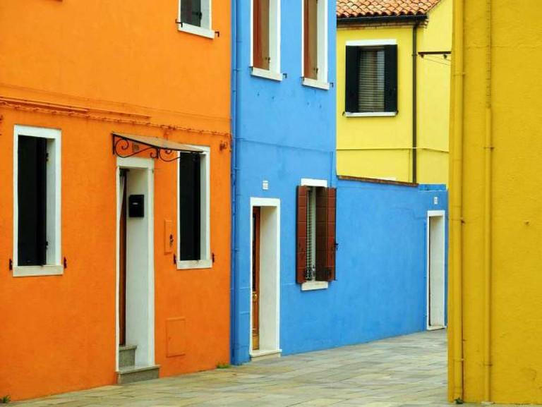 Colored Burano Homes | © Mathias Liebing/Flickr
