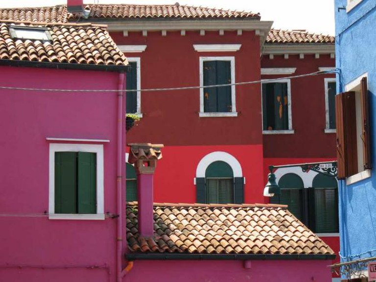 Pink Burano Homes | © Simon/Flickr