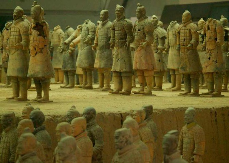 Terracotta Army, Xi'an   © Benjamin Jakabek/Flickr