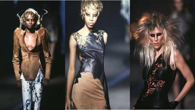 Alexander McQueen's 1997 'It's A Jungle Out There' Collection | © Victor Soto/Flickr