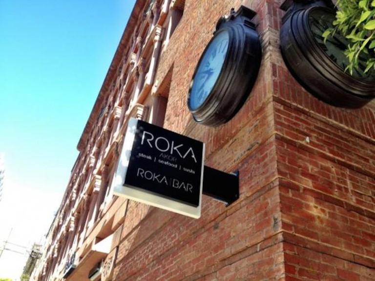 Roka Bar   Image Courtesy of Roka Akor
