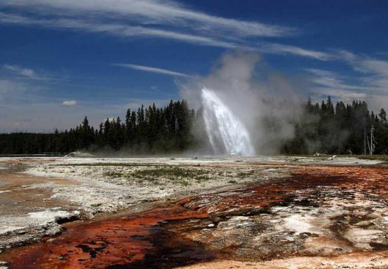 Daisy Geyer in Yellowstone National Park | © Brocken Inaglory/WikiCommons
