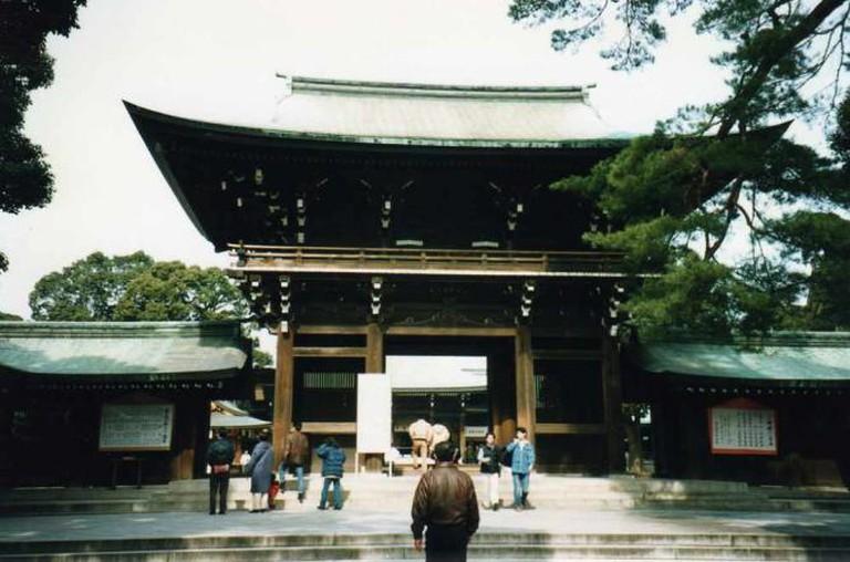 The Meiji Shrine © David Holt / Flickr